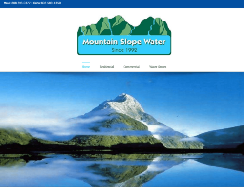 Mountain Slope Water